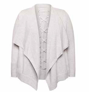 Waterfall Lace up Cardigan