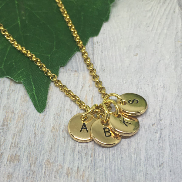 Personalised Letter Necklace - GOLD