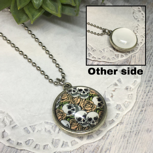 Double Sided Medium Necklaces -20mm
