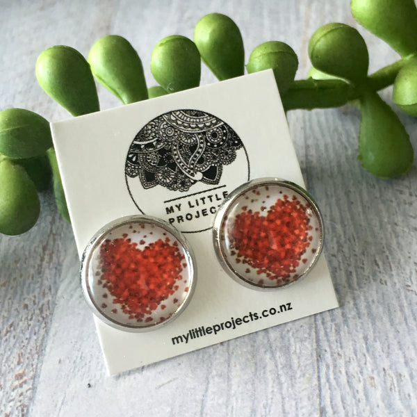 Glass Dome Studs  -MEDIUM (12mm)