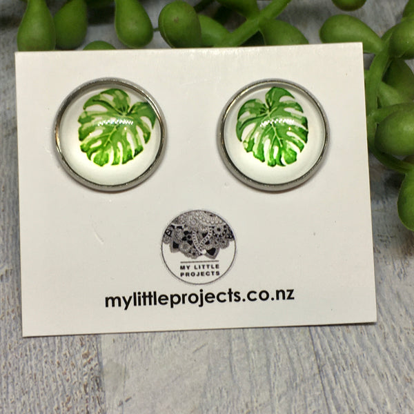 Glass Dome Studs  - LARGE (16mm)
