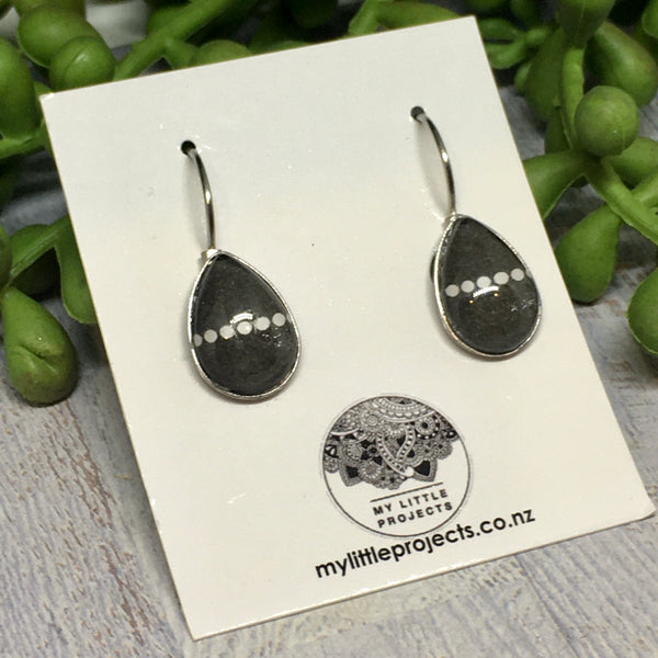 Tear Drop French Drop Earrings