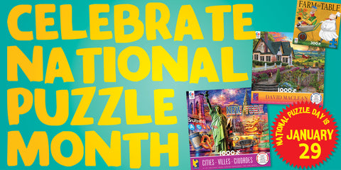 4 Ways to Celebrate National Puzzle Day
