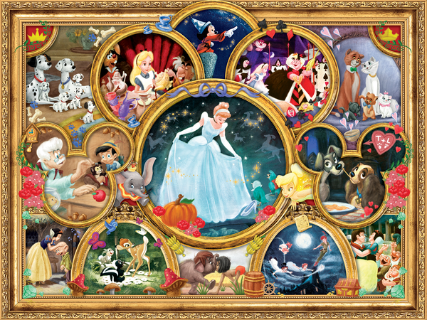Disney - Classic Collage - Perfect Piece Count