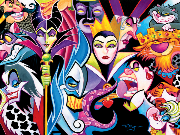 Tim Rogerson - Disney Villains - Perfect Piece Count