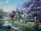 Thomas Kinkade - Clockwater Cottage - 1500 Piece Puzzle