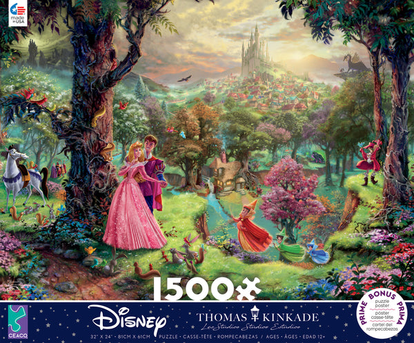 Disney Sleeping Beauty - 1500 Piece Puzzle