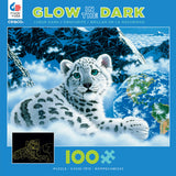 Glow-in-the-Dark - Bed of Clouds -100 Piece Puzzle