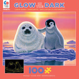 Glow-in-the-Dark - Friends Around the World - 100 Piece Puzzle