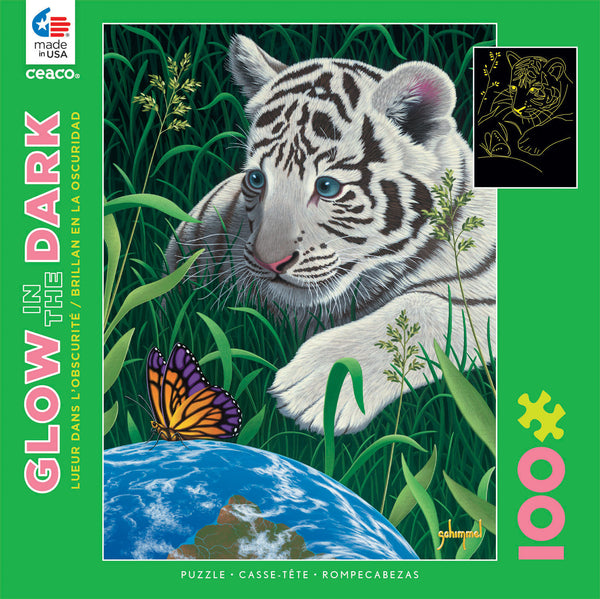 Glow-in-the-Dark -  A Touch of Hope - 100 Piece Puzzle