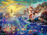 Thomas Kinkade Disney - Little Mermaid - 300 Oversized Piece Puzzle