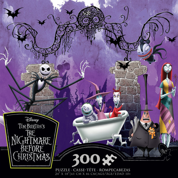Nightmare Before Christmas - Bathtime Ghouls - 300 Piece Puzzle