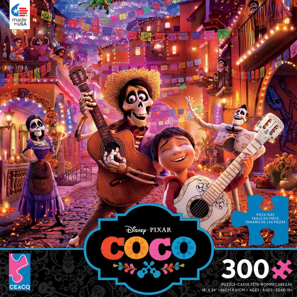 Disney 300 Oversized Pieces - Coco - 300 Piece Puzzle