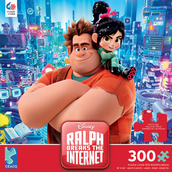 Disney 300 Oversized Pieces - Ralph Breaks the Internet - 300 Piece Puzzle