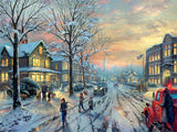 Thomas Kinkade Holiday Movies - A Christmas Story - 300 Piece Puzzle