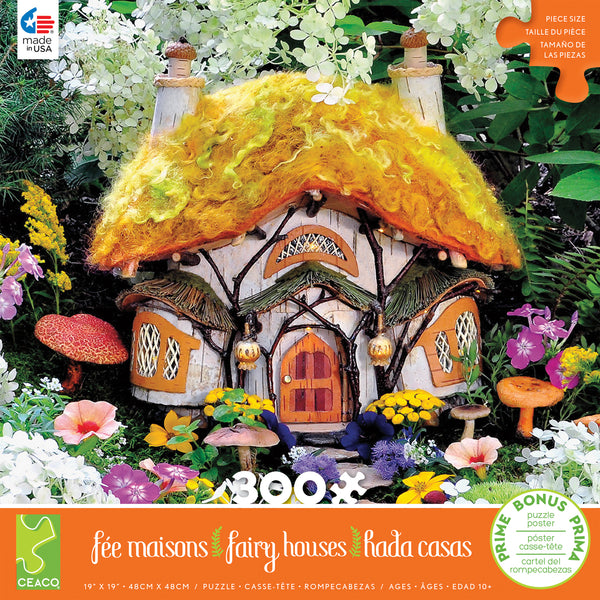 Fairyhouses - Dewdrop Inn - 300 Piece Puzzle