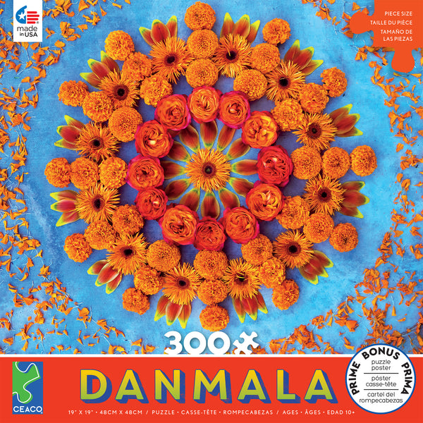 Danmala - Orange - 300 Piece Puzzle