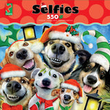 Selfies Christmas - Christmas Pups - 550 Piece Puzzle
