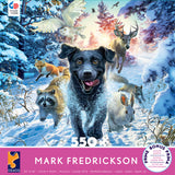 Mark Fredrickson - Black Lab - 550 Piece Puzzle