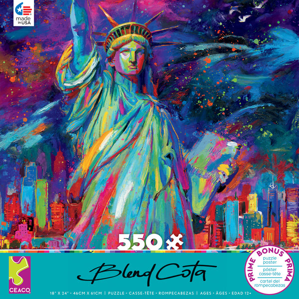 Blend Cota - Lady Liberty - 550 Piece Puzzle