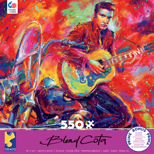 Blend Cota - Rock and Roll - 550 Piece Puzzle