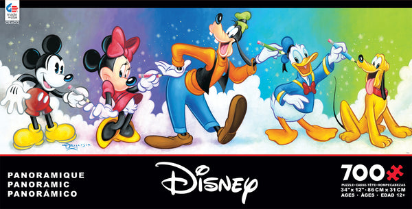 Disney Panoramic - Fab 5 - 700 Piece Puzzle