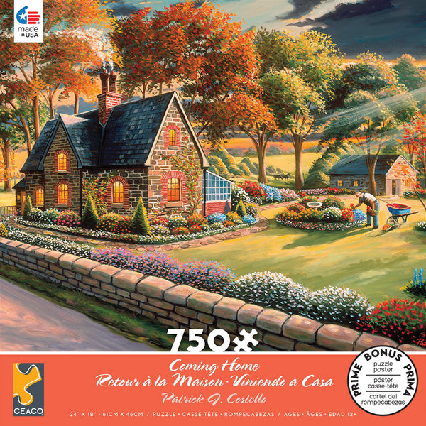 Patrick J. Costello - Coming Home - 750 Piece Puzzle