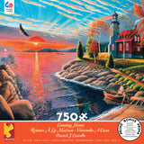 Patrick J. Costello - Lighthouse - 750 Piece Puzzle