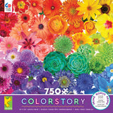 Colorstory - Flower Power - 750 Piece Puzzle