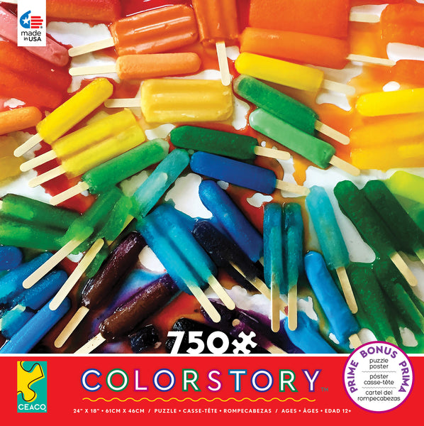 Colorstory - Popsicles - 750 Piece Puzzle
