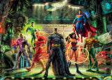 DC Comics Thomas Kinkade - The Justice League - 1000 Piece Puzzle