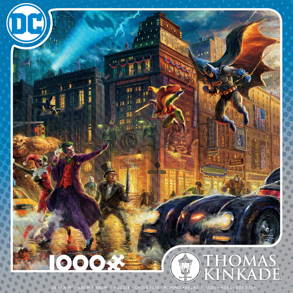 DC Comics Thomas Kinkade - Gotham City - 1000 Piece Puzzle