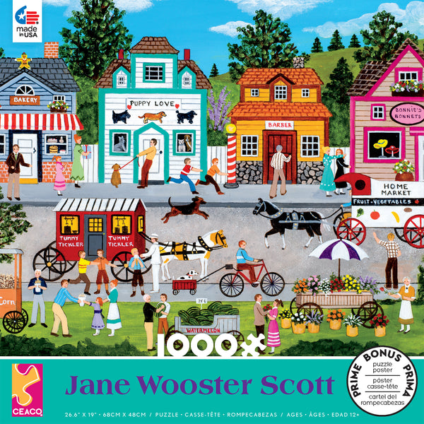Jane Wooster Scott - Happy Go Lucky - 1000 Piece Puzzle