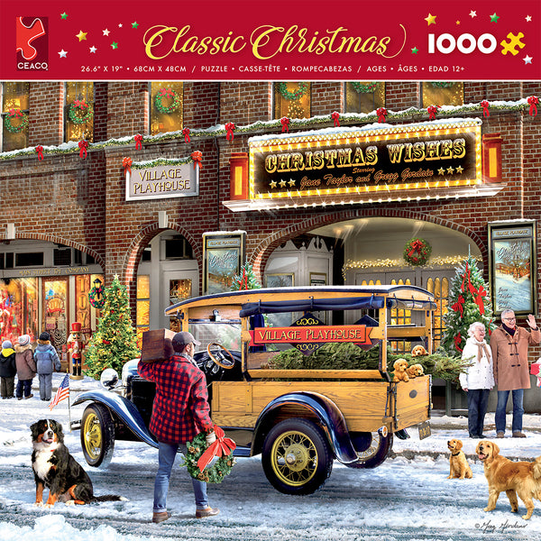 Classic Christmas - Christmas Theatre - 1000 Piece Puzzle