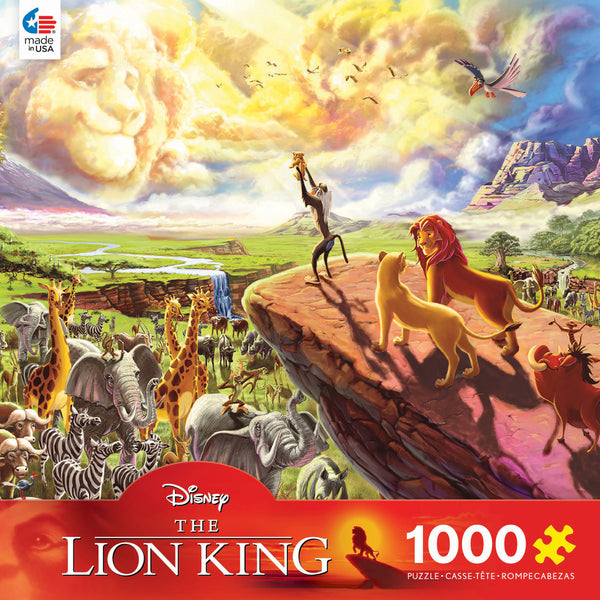 Disney Fine Art - The Lion King - 1000 Piece Puzzle
