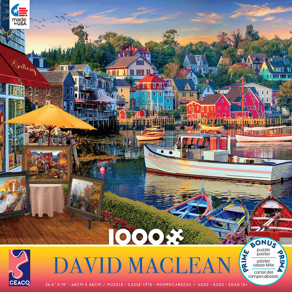 David Maclean - Gallery - 1000 Piece Puzzle