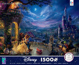 Thomas Kinkade Disney Beauty and the Beast Dancing in the Moonlight - 1500 Piece Puzzle