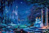Thomas Kinkade Disney Dreams - Cinderella Dancing in the Starlight - 2000 Piece Puzzle