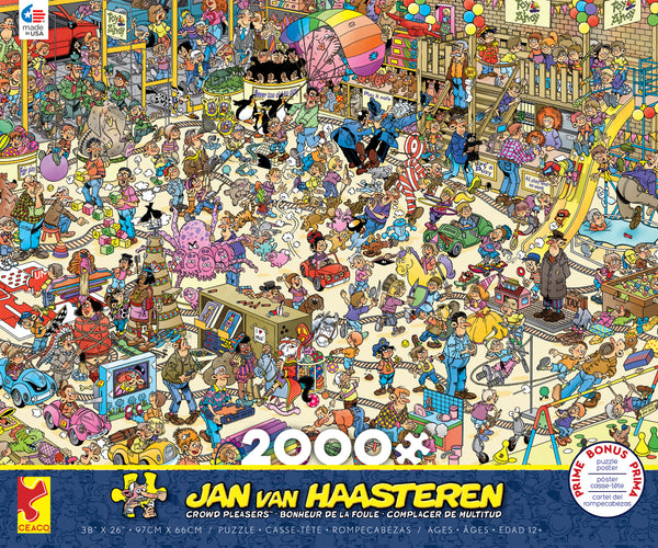 Jan Van Haasteren - Toy Ahoy - 2000 Piece Puzzle