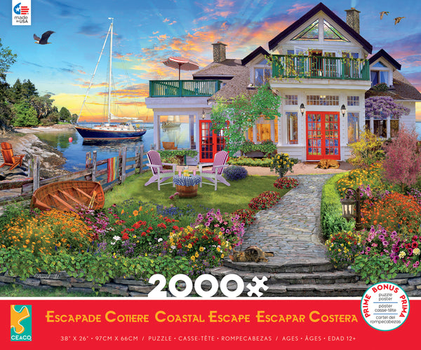 Coastal Escape - 2000 Piece Puzzle