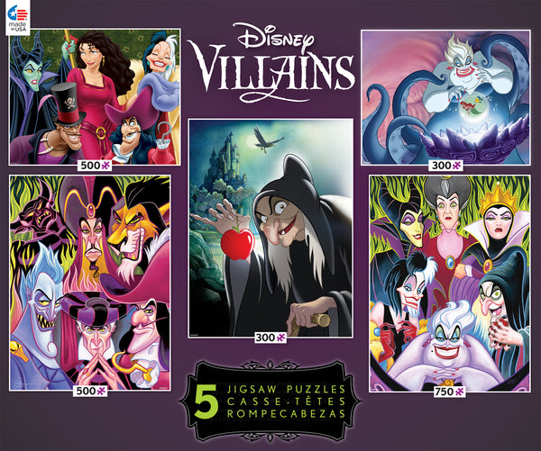 Disney - Villains - 5 in 1 Multipack