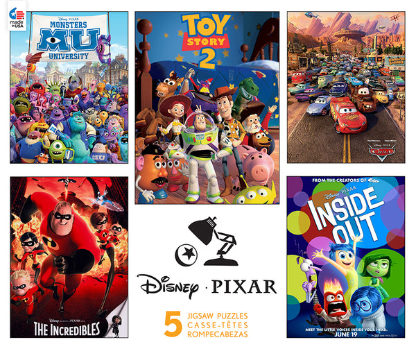 Disney - Pixar - 5 in 1 Multipack