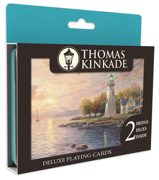 Thomas Kinkade - Deluxe Playing Cards