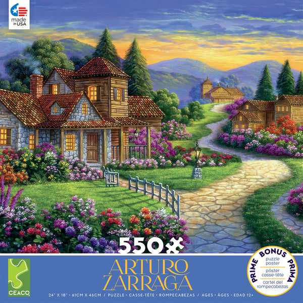 Arturo Zarraga - Twilight at the End of the Day - 550 Piece Puzzle