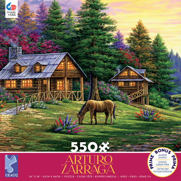 Arturo Zarraga - Rock of Wolves - 550 Piece Puzzle