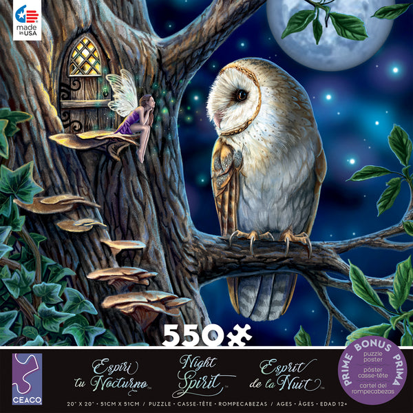 Night Spirit - Fairy Tales - 550 Piece Puzzle