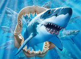 Undersea Glow - Great White Delight - 100 Piece Puzzle