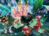 Forest Fairies - Fairy, Elf and Mice - 100 Piece Puzzle