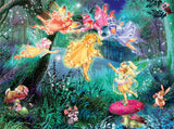 Forest Fairies - Fairy Ring of Six - 100 Piece Puzzle