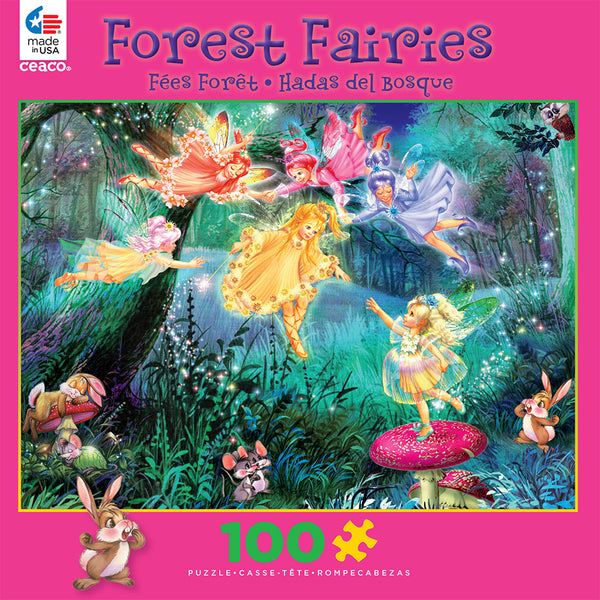Fairy Ring of Six Jigsaw Puzzle Box